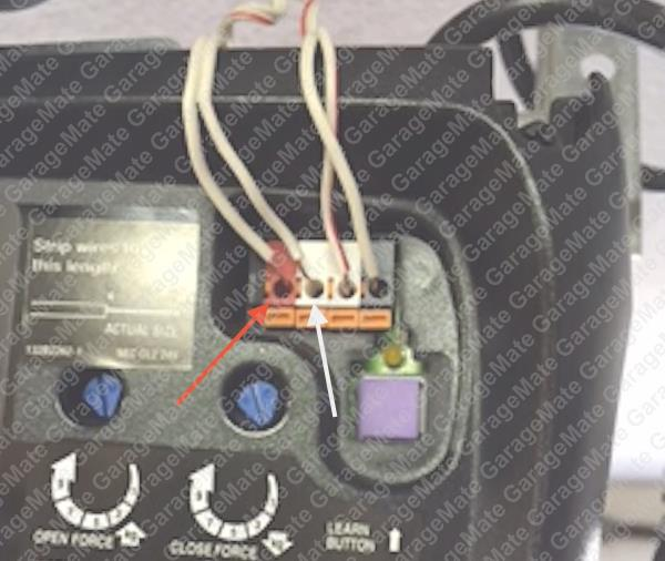 wiring diagram for liftmaster garage door opener sensor